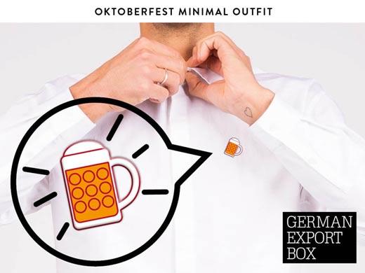 Deutsches Volksgetränk - Obergäriger Pin in robustem Schuber