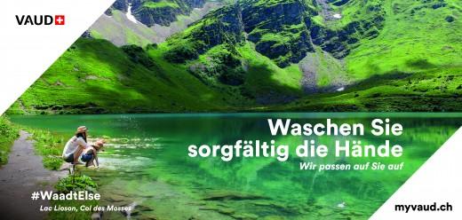 Genferseegebiet lanciert #WaadtElse-Kampagne für EU-Gäste